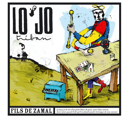 visuel CD Fils de Zamal - Lo'Jo